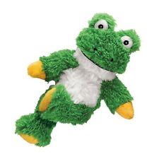 KONG Cross Knots Frosch S/M Grün Robust Hundespielzeug Hund Spielzeug Plüsch