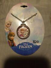 Disney Oficial Blanco Chapado en Oro con Cristales Tinkerbell Hada creer Collar