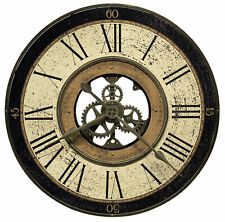 Howard Miller 625542 Brass Works Wall Clock