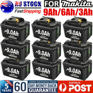 9.0Ah For Makita Battery 18V Battery BL1830B BL1840B BL1850B BL1860B 6.0Ah 3.0Ah