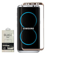 Full 3D Curved Tempered Glass Screen Protector for Samsung Galaxy S8+ Plus