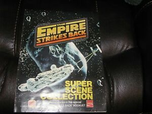 Star Wars Empire Strikes back Burger KIng stickers sheet complete very nice