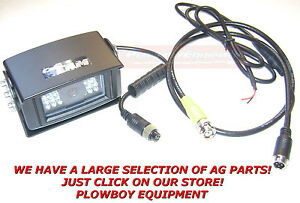 INTELLIVIEW Monitor Camera & Cable For Video fits CASE IH AFS PRO Or NEW HOLLAND