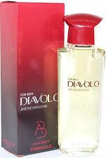 DIAVOLO FOR MEN 3.4/3.3 OZ EDT SPRAY BY ANTONIO BANDERAS & NEW IN A BOX