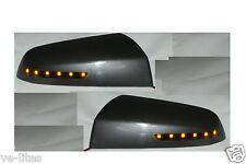 HSV Caprice WM Commodore VE Amber LED mirror covers Evoke Grey Finish SS SV6 GTS