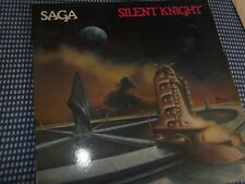 "SAGA: ""Silent Knight"" MAZE (ML-8003) Prog Rock Vinyl LP"