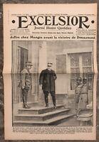 N166 La Une Du Journal Excelsior 27 Octobre 1916