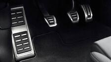 Original Audi A3 8V / TT 8S Edelstahl Pedalkappen mit Fußstütze 8V1064200A