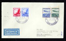 """orginal Brief Stempel """"Graf Zeppelin"""" LZ127 Europa - Südamerikaflug 1936 rare"""