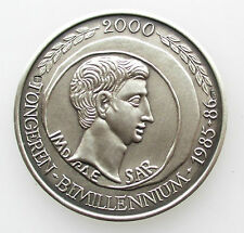 Zilver Medaille Tongeren Bimillenium 1985-86 30mm.