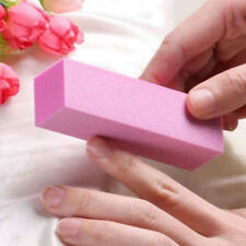10Pcs Nail Buffer File Sponge Set Sandpaper Emery Block Polishing Grinding Salon