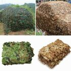 Woodland Desert Leaves Camouflage Camo Army Net Netting Camping Military Hunting