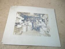 Old Original Photograph Country Hardware or General Store in early 1900's