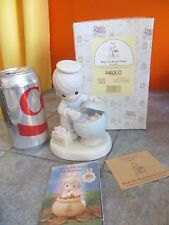 "1994 PRECIOUS MOMENTS "" WHAT THE WORLD NEEDS IS LOVE "" Figurine with Box"