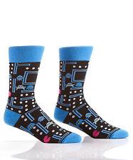 Fun & Fashionable Yo Sox Men's Crew Socks-Not Pac Man-Video Game Gamer Retro