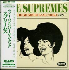 Supremes-we Remember Sam Cooke-japan Mini LP CD Bonus Track C94