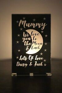 Personalised Mothers Day Gifts Mummy Nanny Nana Granny Candle Holder Gift