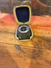 Vintage Cased Gossen Sixtino Selenium Light Meter