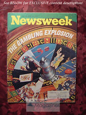 NEWSWEEK April 10 1972 Apr 4/10/72 THE GAMBLING BOOM Inflation Munich Olympics
