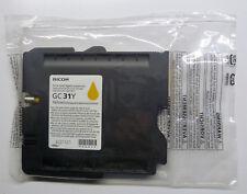 RICOH GC 31 Y Giallo Yellow AFICIO GX e2600 e3300n e3350n e5550n e7700n O.V.