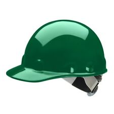 Fibre-Metal Cap Style Hard Hat with SwingStrap Ratchet Suspension, Green