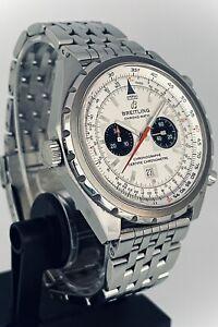 Breitling Chrono-Matic 44 Auto Chronograph Panda Dial • Full Set • 1YR Warranty