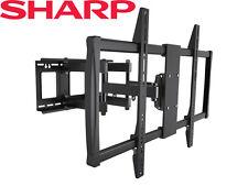 Full-Motion TV Wall Mount 60 65 70 75 80 90 100 Inch Sharp LCD LED Plasma HDTV