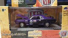 M2 1971 Plymouth Cuda 440 Rally Historico Ltd to 6,800 Purple 1:64 Die Cast NEW