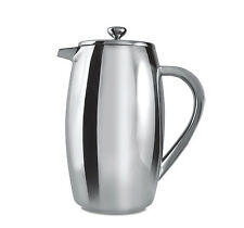 Grunwerg 6 Taza vientre Doble Pared émbolo Café CAFETIERE Acero Inoxidable