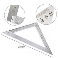 Dreieck Lineal Aluminiumlegierung Winkelmesser Messwerkzeug Hohe Präzision DE