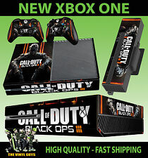 XBOX ONE CONSOLE STICKER CALL OF DUTY COD BLACK OPS 3 SKIN & 2 PAD SKINS