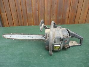 """Vintage CRAFTSMAN  Chainsaw Chain Saw with 16"""" Bar"""