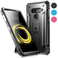 Poetic For LG V50 ThinQ Kickstand Case,Dual Layer Shockproof Cover Cover