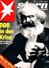 Magazin STERN  Nr 19 von 1979, DDR in Krise - wenn Marx das wüßte; Was ist Glück