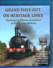 Grand Days Out on Heritage Lines. Blu-Ray DVD
