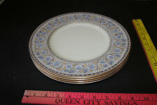 "4 Royal Worcester Dinner Plates in the Lady Evelyn Pattern 10 1/2"" #2"