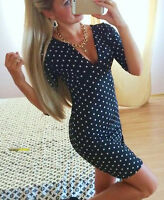 Robe Soirée Sexy De Femme Manche Courte Mini Moulante Fashion