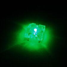 50 pcs Flat Top Piranha Super Flux LED Light Bulb Car Lights 8000 mcd Green