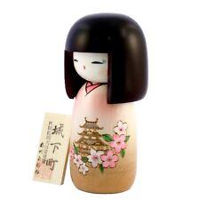Kokeshi dolls Bella Pagoda - Originale dal Giappone - in legno - Fatto a mano