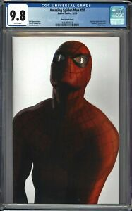Amazing Spider-Man 50 CGC 9.8 Alex Ross Timeless Virgin Variant