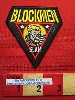 RARE PATCH Blockmen Military Building System SGT. SLAM ~ ARMY 64Y