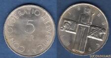 Suisse – 5 Francs 1963 Croix-Rouge – Switzerland Swiss