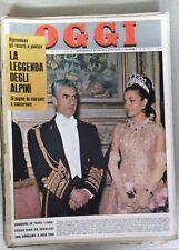 RIVISTA OGGI DEL 21 MARZO 1963 - LA PRINCIPESSA FARAH DIBA E DIVENTATA MAMMA -