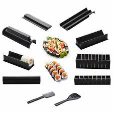 10× DIY Sushi Making Kit Rice Roller Mold Set for Beginners Kitchen Tool Set