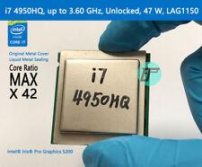 Magic Reform Intel Mobile Cpu i7 4950Hq, up to 3.60 Ghz, Unlocked, 47 W, Lga1150