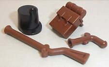 Lego Imperial Soldier Accessories x 1 Shako Hat, Backpack, Musket & Pistol