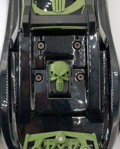 Traxxas Hoss E-Revo, Rustler 4x4 VXL Custom Heavy Duty Body Latch Skull