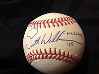 Scott Williamson 1999 NL ROY OMLB signed auto Baseball Reds Red Sox WS Champion