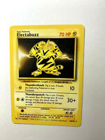 ELECTABUZZ - Base Set - 20/102 - RARE - Pokemon Card - Unlimited - 1999 - NM