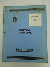 Komatsu Dresser 340 Series Hydraulic Equipment Factory Service Manual GSS-1258